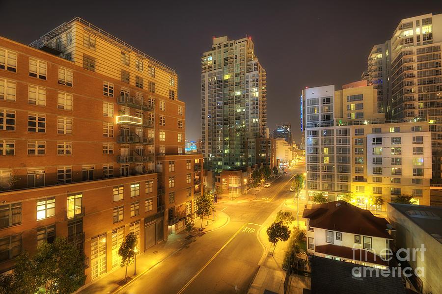 San Diego City Lights Photograph By Yhun Suarez