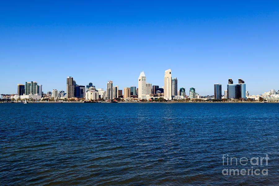 2012 Photograph - San Diego Skyline by Paul Velgos