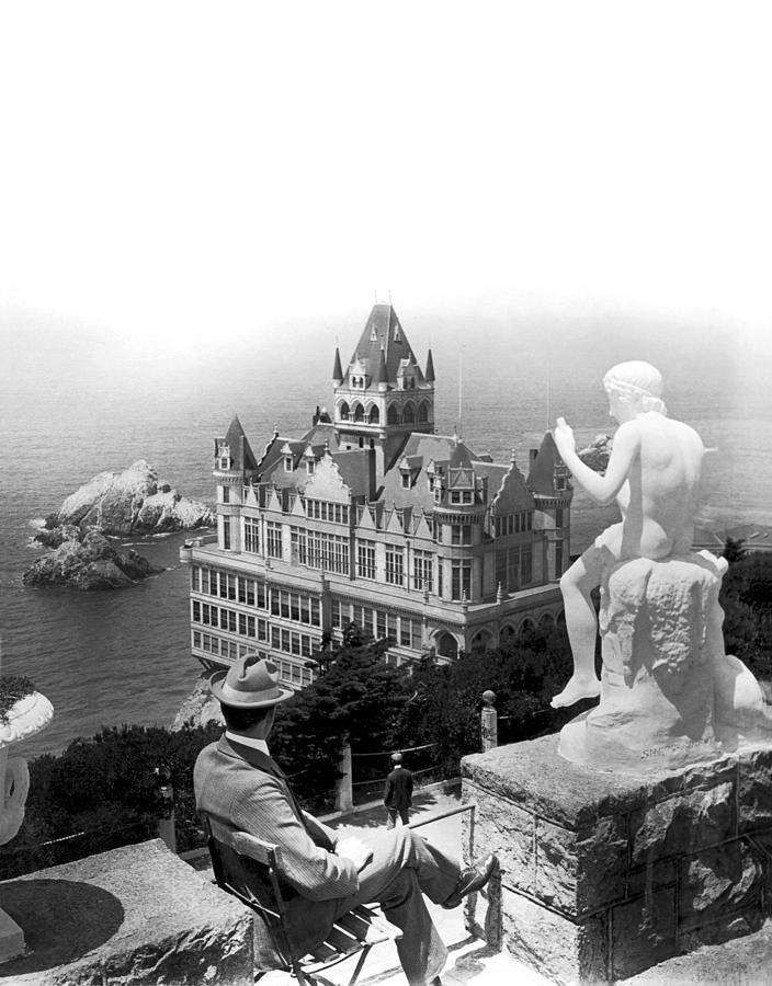 1890's Photograph - San Francisco Cliff House by Underwood Archives