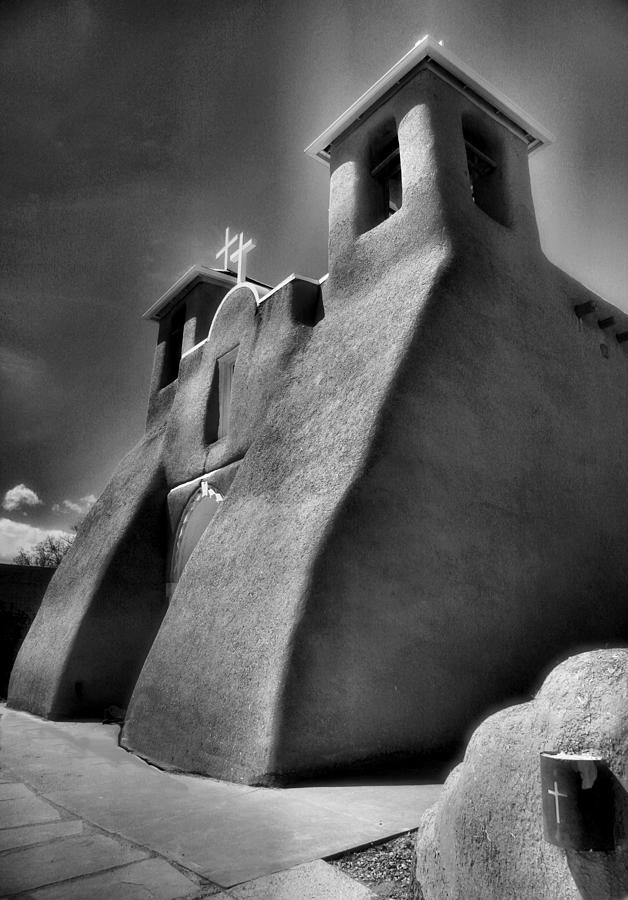 Adobe Church Photograph - San Francisco De Asis Church II by Steven Ainsworth