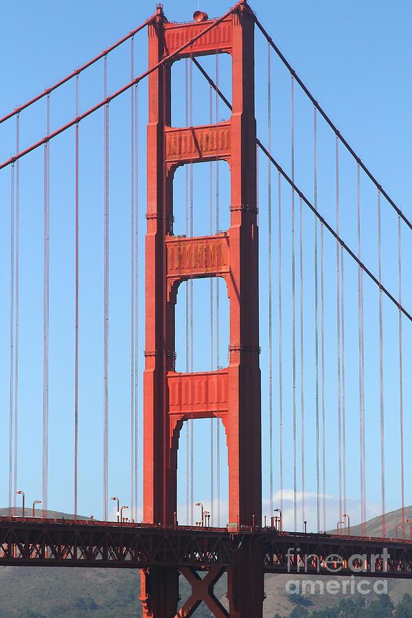 San Francisco Photograph - San Francisco Golden Gate Bridge . 7d7804 by Wingsdomain Art and Photography