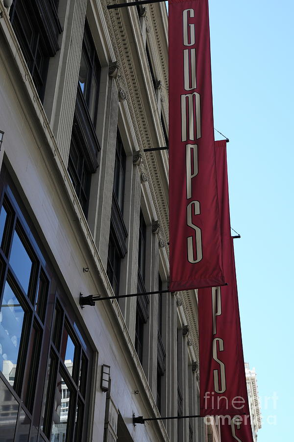 San Francisco Photograph - San Francisco Gumps Department Store - 5d17091 by Wingsdomain Art and Photography