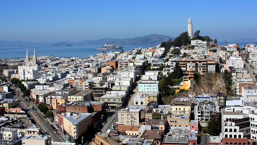 Horizontal Photograph - San Francisco by Luiz Felipe Castro