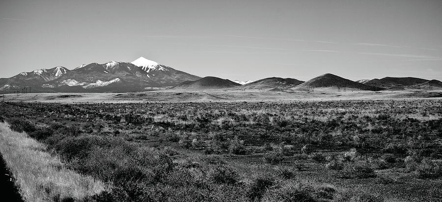 Landscape Photograph - San Francisco Peaks by Gilbert Artiaga