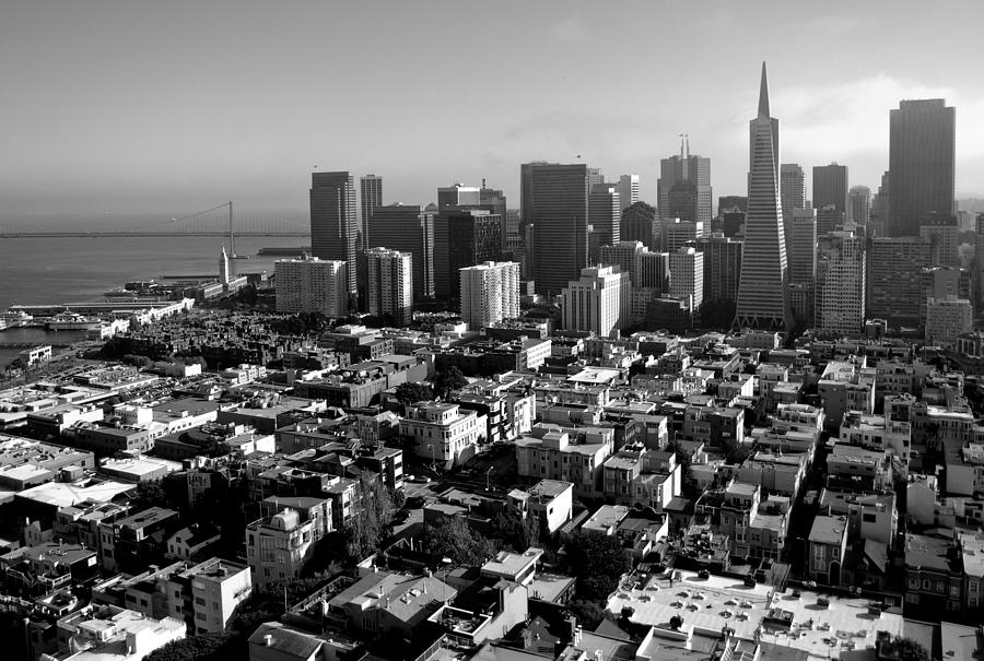 San Francisco Photograph - San Francisco by Valeria Donaldson