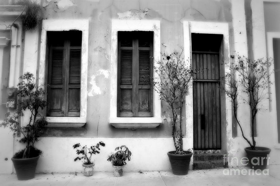 Door Photograph - San Juan Living 2 by Perry Webster