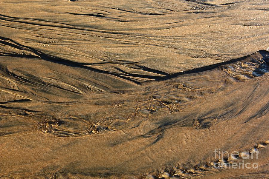 Sand And Foam Photograph by Cigdem Cigdem