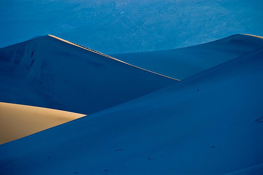 Desert Photograph - Sand Dunes Sunrise by Steve Gadomski