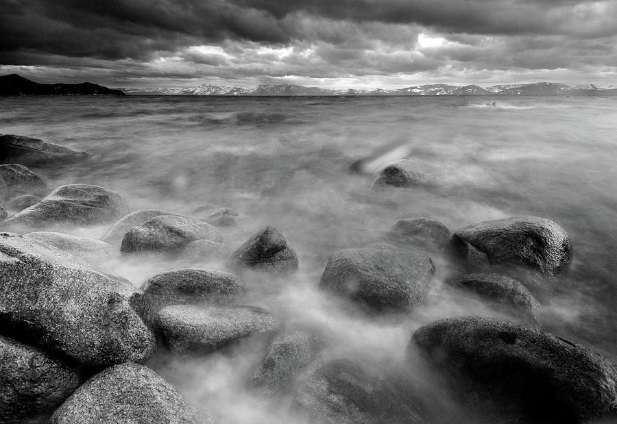 Horizontal Photograph - Sand Harbor, Lake Tahoe State Park by David Kiene