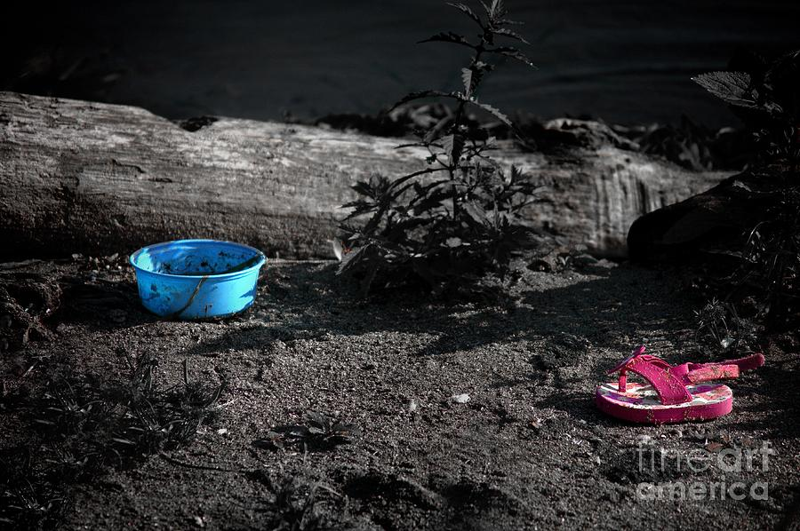 Color Photograph - Sandalwood Beach by The Stone Age