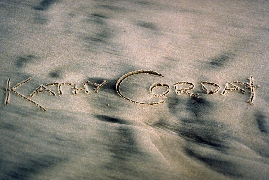 SandScript by Kathy Corday