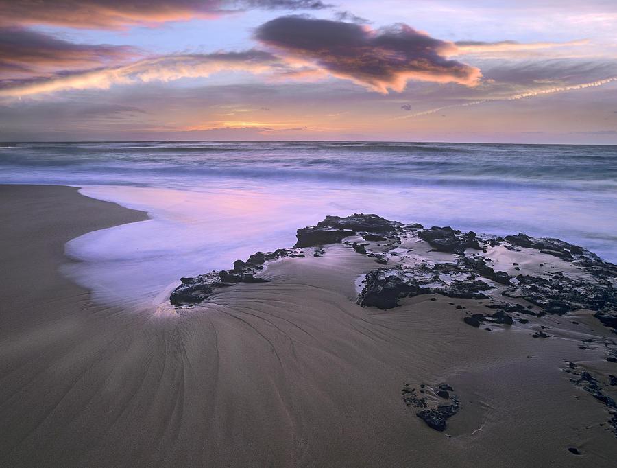Sandy Beach Oahu Hawaii Photograph by Tim Fitzharris