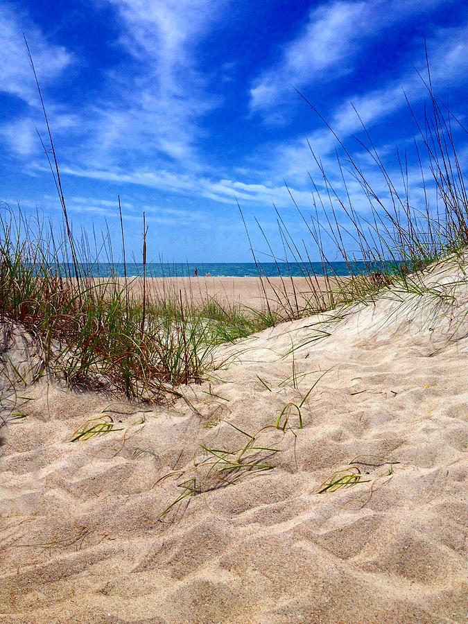 Carolina Photograph - Sandy Dunes by Joan Meyland