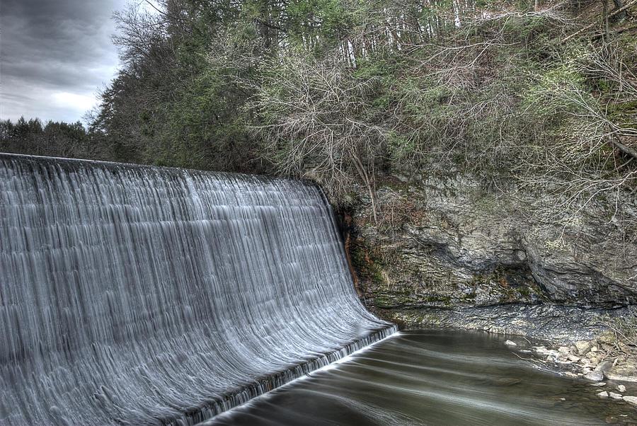 Water Photograph - Sandy Hook Mill Dam by David Clark