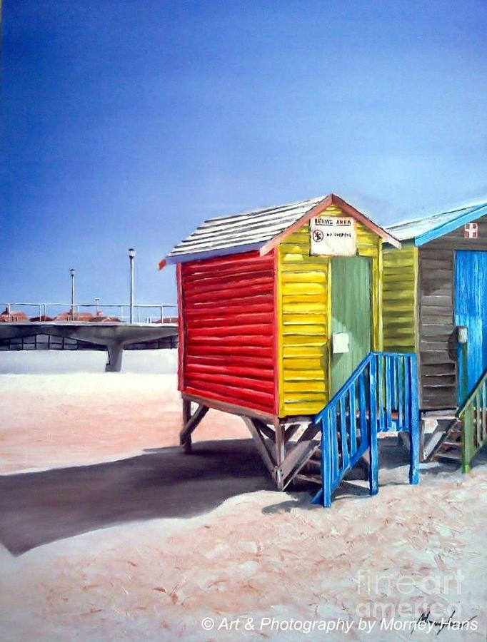 Sandy Memories Painting by Morney Hans
