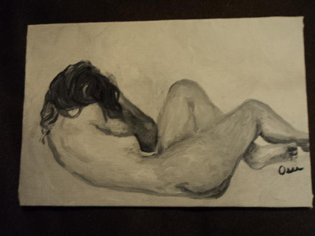 Nude Painting - Sandy Nap by Osee Koger
