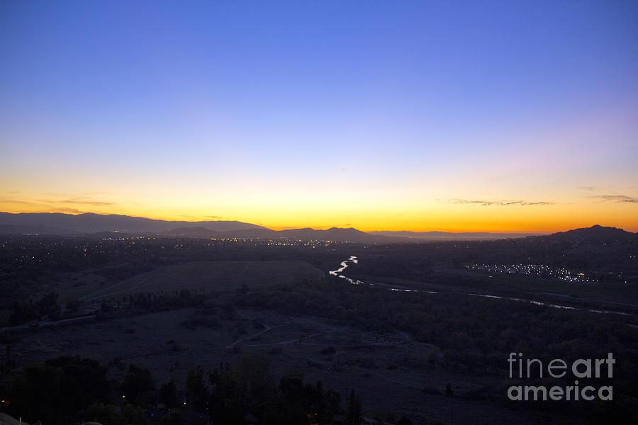 Santa Ana River Photograph - Santa Ana River by Molly Heng