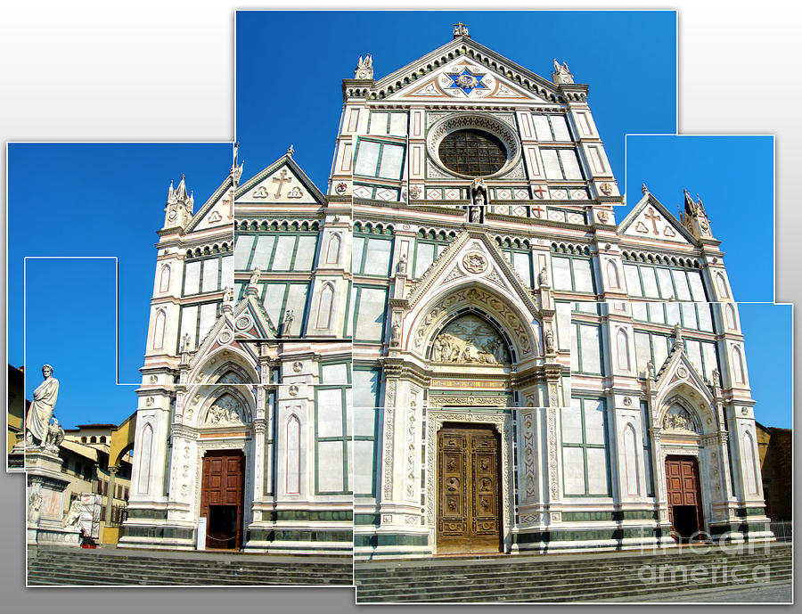 Santa Croce Painting - Santa Croce by Gregory Dyer