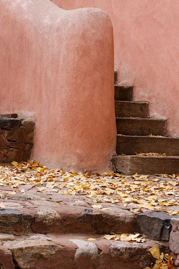 Santa Fe Photograph - Santa Fe Adobe by Denice Breaux
