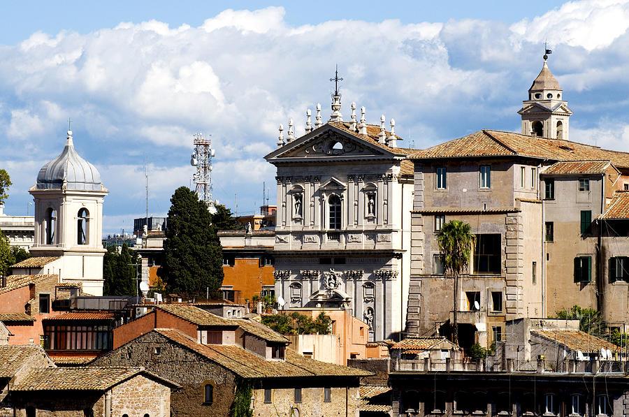 Rome Photograph - Santi Domenico E Sisto by Fabrizio Troiani