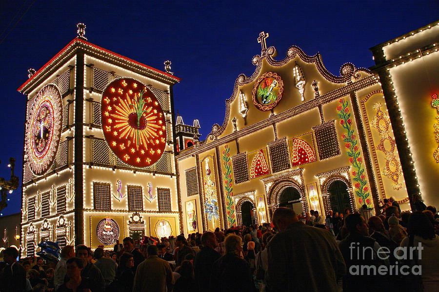 Portugal Photograph - Santo Cristo Festivities by Gaspar Avila