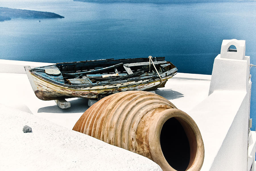 Greece Photograph - Santorini Still Life by Scott Massey