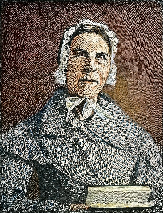 19th Century Photograph - Sarah Moore Grimke by Granger