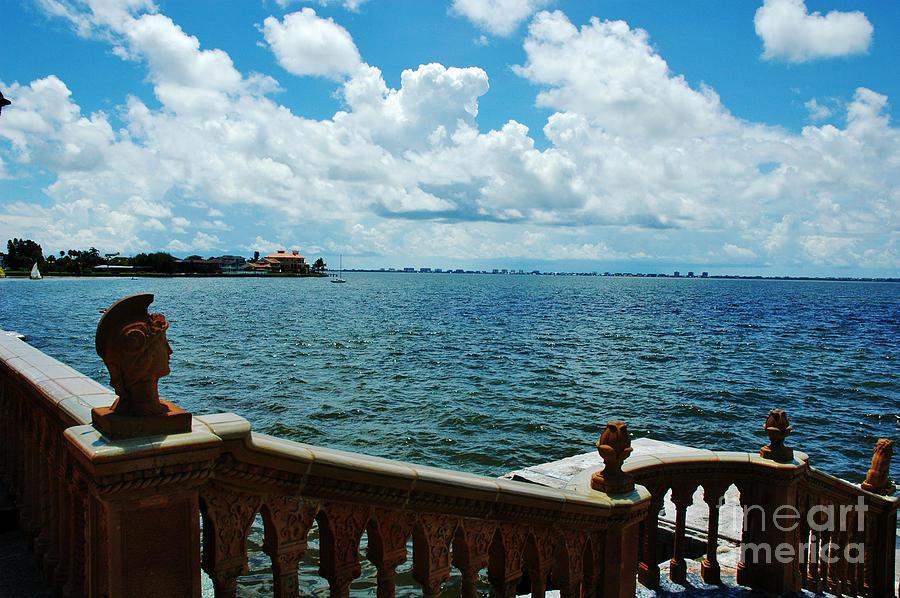 Sarasota Photograph - Sarasota Bay In Florida by Susanne Van Hulst