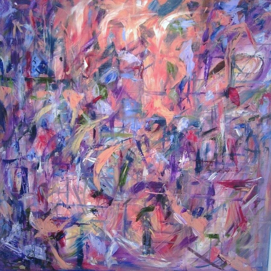 Abstract Painting - Sarasota by Beverly Smith