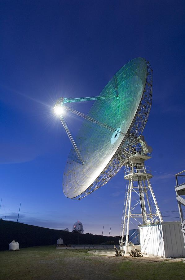 History Photograph - Satellite Tracking Antenna Dish by Everett