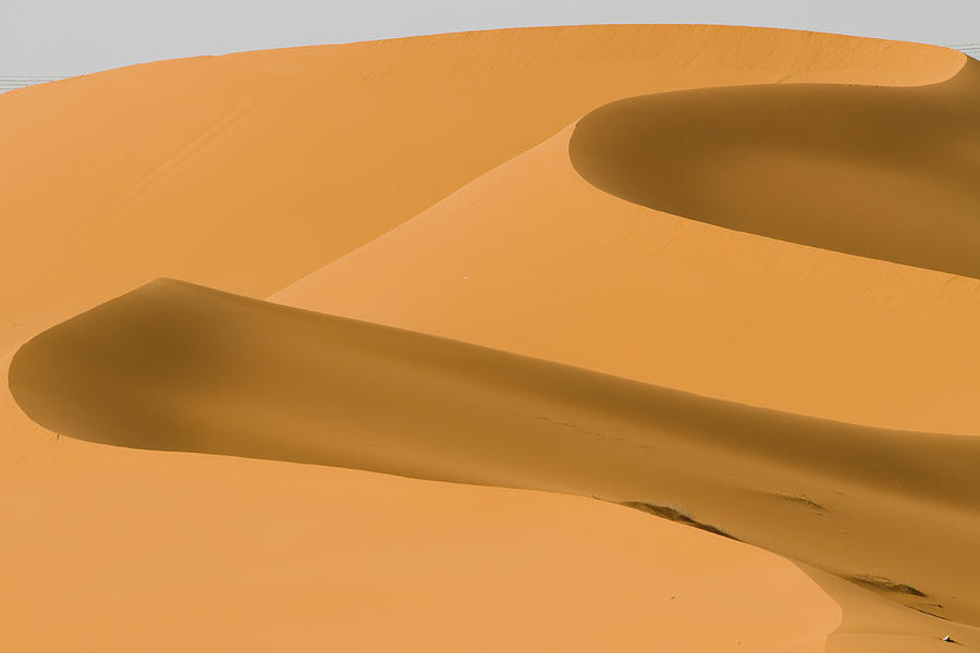 Horizontal Photograph - Saudi Sand Dune by Universal Stopping Point Photography