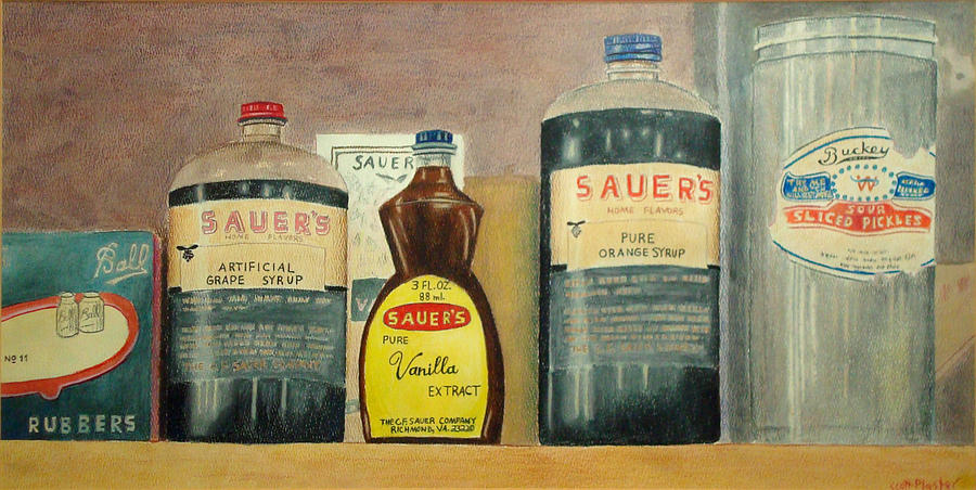 Country Kitchen Painting - Sauers Kitchen by Scott Plaster