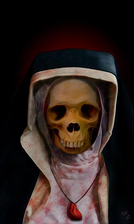 Sister Digital Art - Save My Soul by Vic Weiford
