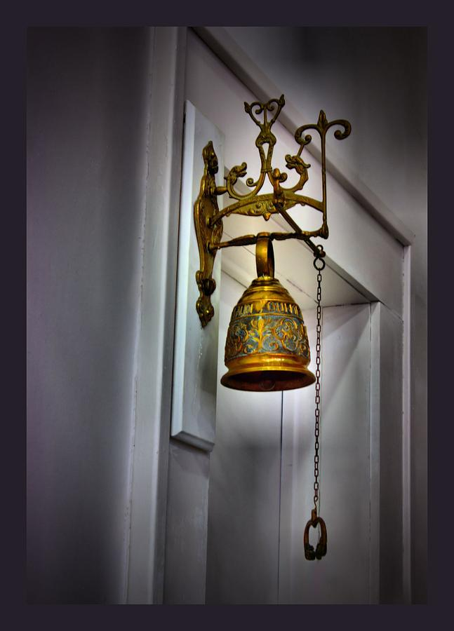 Bell Photograph - Saved By The Bell by Myrna Migala