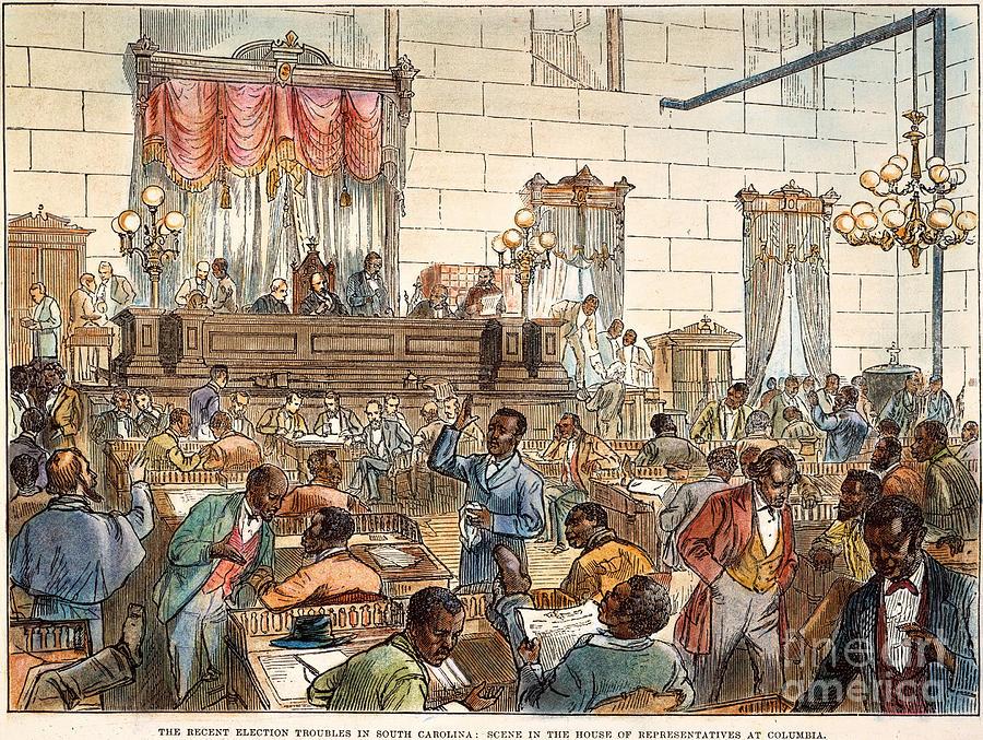 1876 Photograph - Sc: Legislature, 1876 by Granger