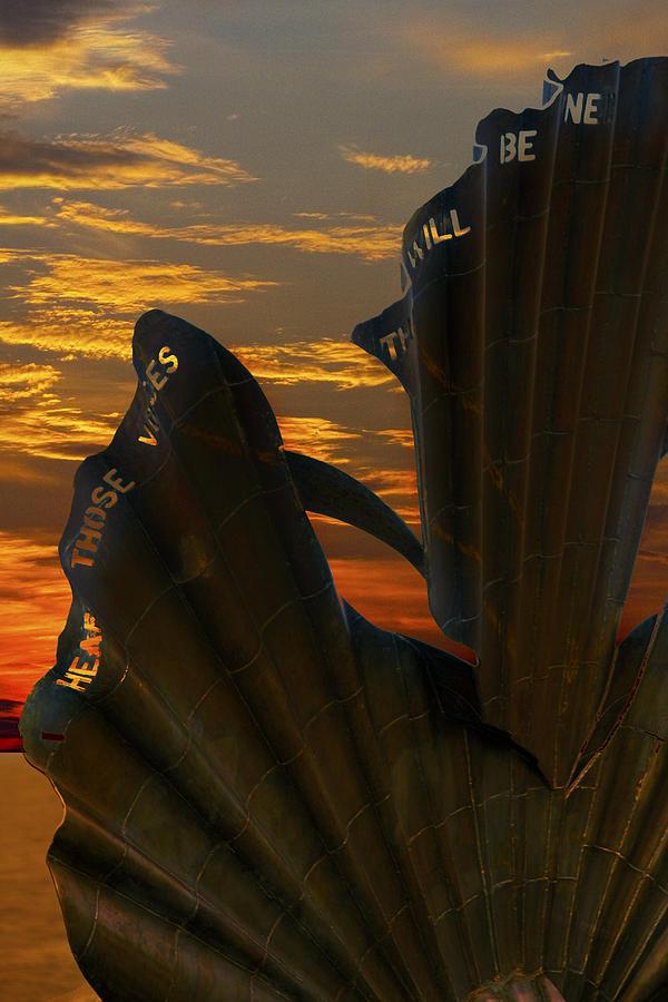 Aldeburgh Photograph - Scallop Sunrise by Darren Burroughs
