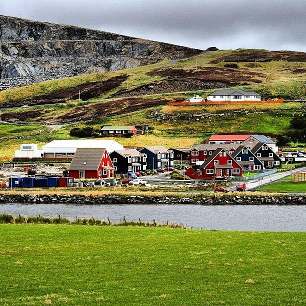 Shetland Photograph - #scalloway #shetland Islands by Luisa Azzolini
