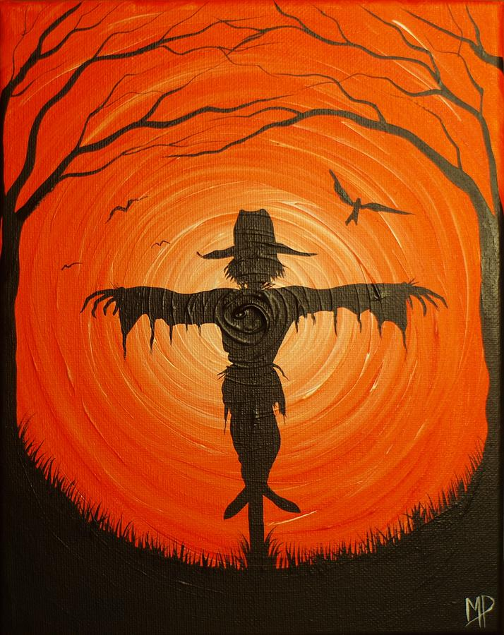 scarecrow painting by michael prosper. Black Bedroom Furniture Sets. Home Design Ideas