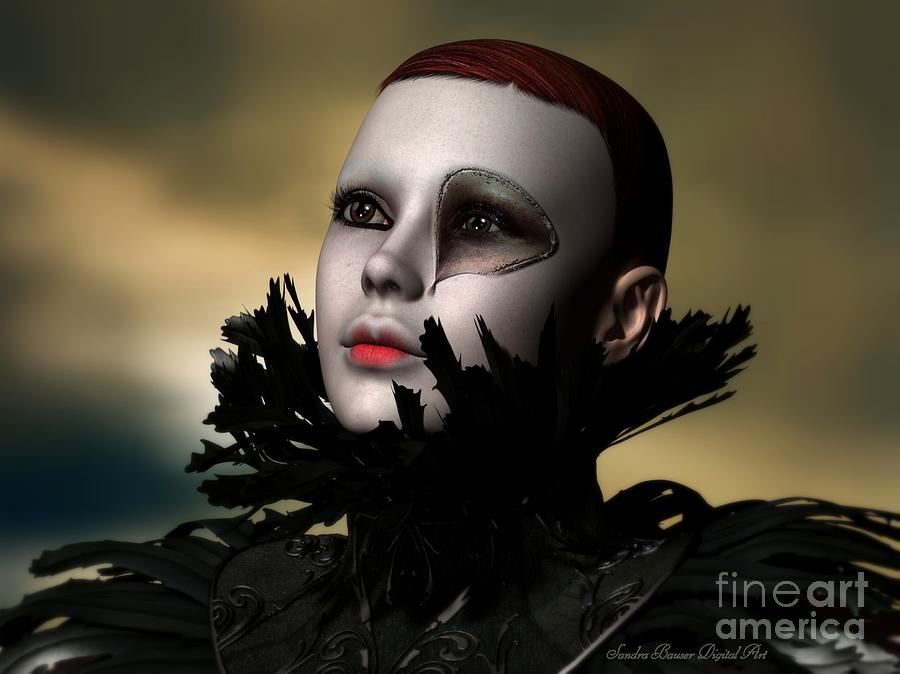 Scarred Digital Art - Scarred Beauty by Sandra Bauser Digital Art