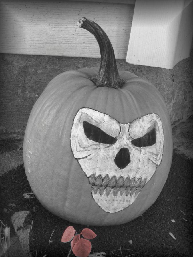 Halloween Photograph - Scary by Juliana  Blessington