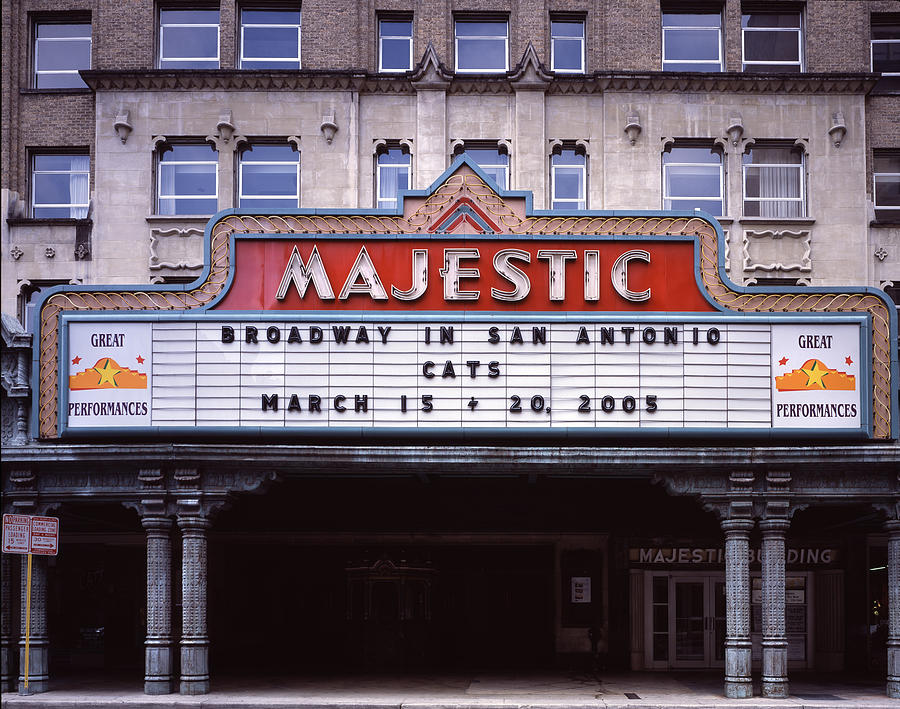 2000s Photograph - Scenes Of Texas, The Majestic by Everett