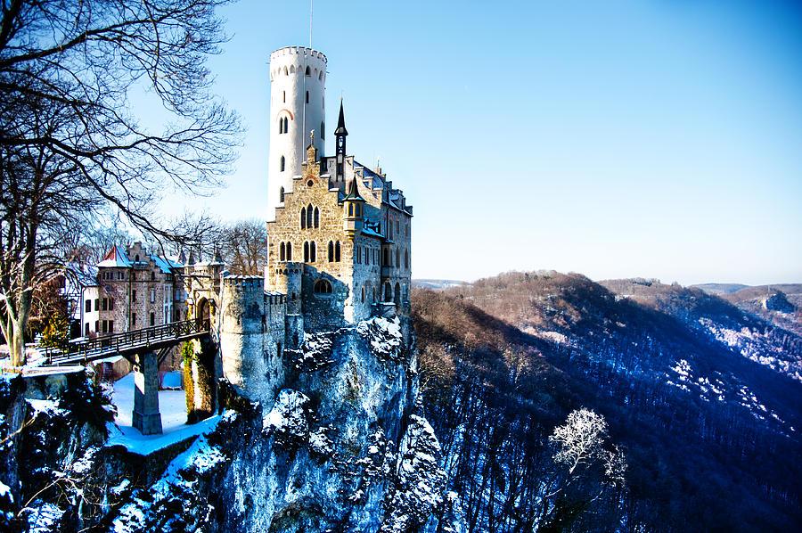 Castle Pyrography - Schloss Lichtenstein by Thomas Kessler