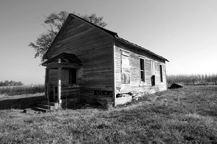 Old Photograph - School House by Rick Rauzi