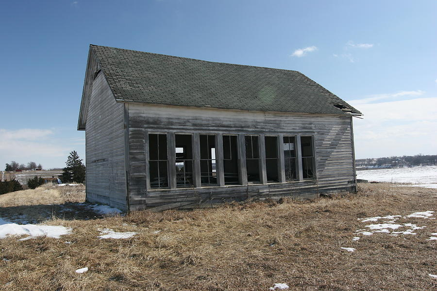 One Room School House Photograph - Schools Out by Rick Rauzi