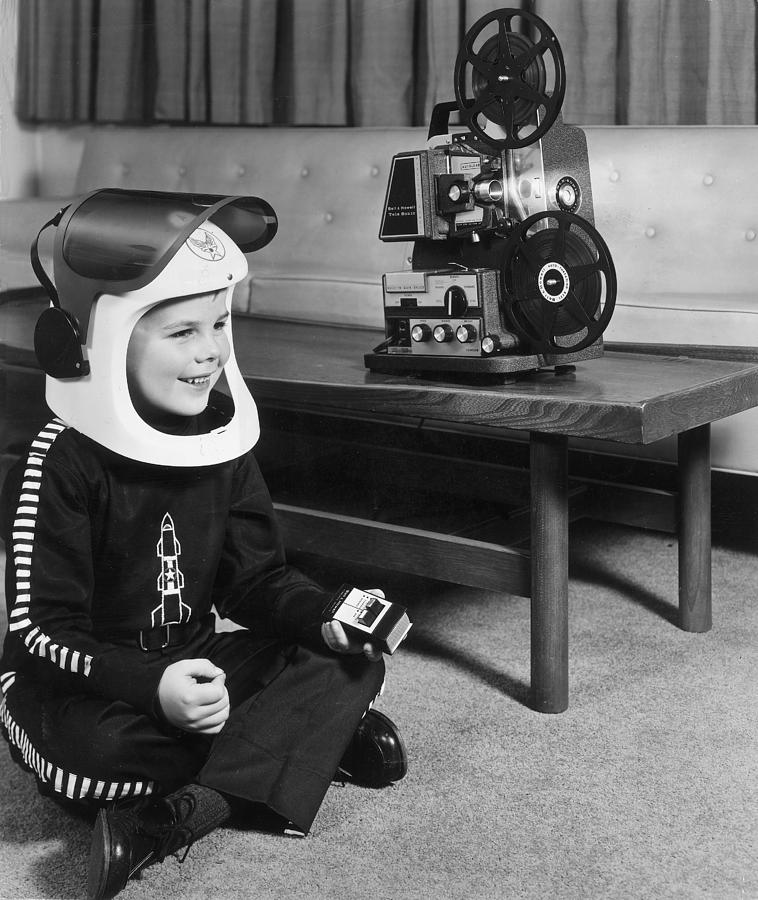 Child Photograph - Sci-fi Film by Archive Photos