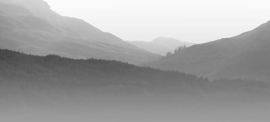 Mist Photograph - Scotch Mist by Lynn Bolt