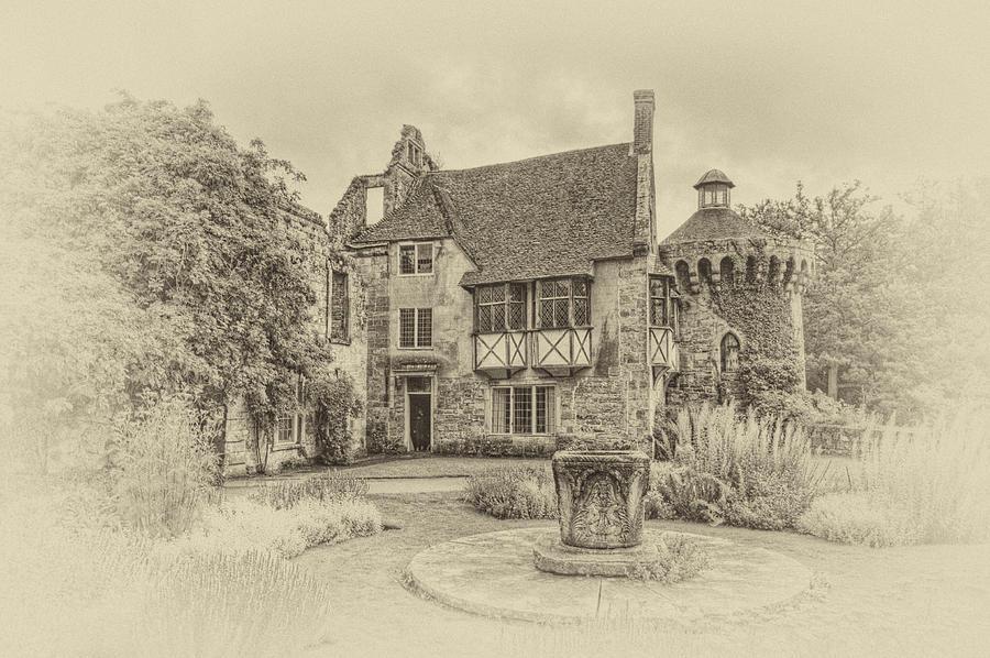 Scotney Castle Photograph - Scotney Castle by Chris Thaxter