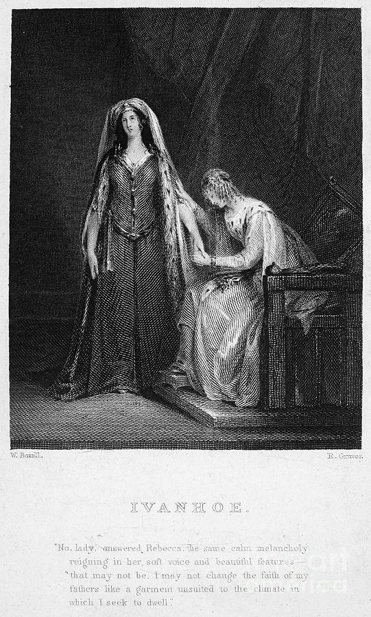 1832 Photograph - Scott: Ivanhoe, 1832 by Granger
