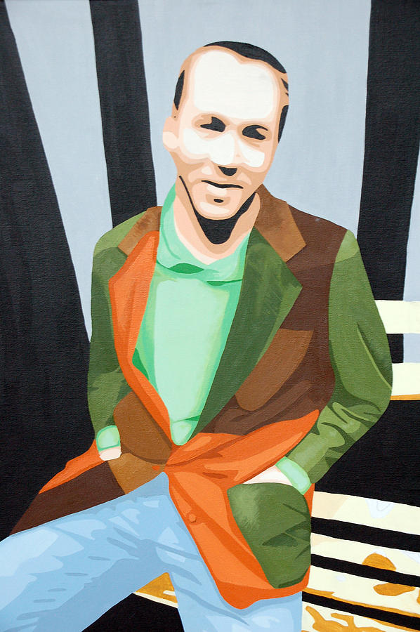 Portrait Painting - Scott by Michael Ringwalt