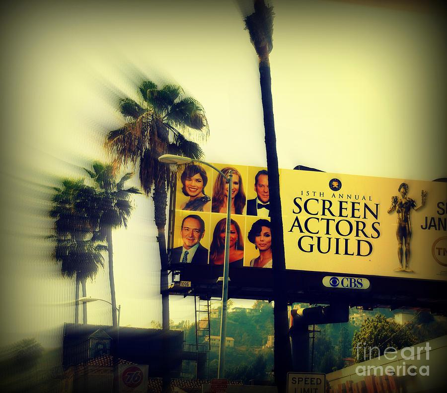 Hollywood Photograph - Screen Actors Guild In La by Susanne Van Hulst